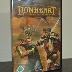 Joc PC - Lionheart - Legacy of the Crusader ( Original ) #80 - Jocuri PC Altele, Role playing, 12+, Single player