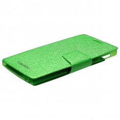 Husa Telefon - Husa Flip Allview X2 Soul cu inchidere magnetica, AIMI, Verde
