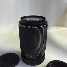 Vand obiectiv NIKON AI-S 70-210mm - Obiectiv DSLR Nikon, Tele, Manual focus