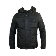 Geaca Tip Zara Man, Neagra, Casual, Primavara, de Fas, Masuri S M L XL D368 - Geaca barbati, Culoare: Negru