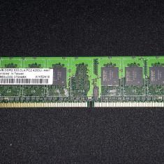 Vand memorie DDR2 512 mb, CL 4, 533 MHz, AENEON - Memorie RAM Kingmax