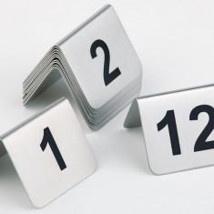 Bricolaj - Set inox numere masa 1-12