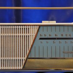 Radio portabil Anii 60 TELEFUNKEN : Famulus 3971. Radio vechi, de colectie + Husa - Aparat radio