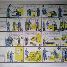 Chestionar protectia muncii - CUNOSTINTE GENERALE (I) - anii '80
