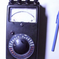 Aparat masura vechi de colectie anii 50 multimetru german functional - Multimetre