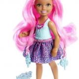 Papusa Barbie Mattel BRB Long Hair Chelsea Blue DKB54-DKB55