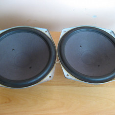 2 Difuzoare Bass Grundig 24cm Profesional 1500a