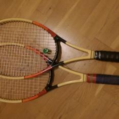 2 Rachete Dunlop Maxply Mcenroe - Racheta tenis de camp Dunlop, Performanta, Adulti