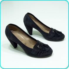 DE CALITATE _ Pantofi dama, piele, comozi, PRIMADONNA _ femei | nr. 39, Piele naturala