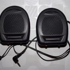 Mini Difuzoare Stereo, cu dimensiunea 7cm/8cm, conector Jack 3.5mm