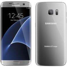 Telefon Samsung, Argintiu, 32GB, Neblocat, Single SIM - SAMSUNG S7 EDGE, NEVERLOCKED, 32GB, SILVER, SIGILAT NOU, FACTURA, GARANTIE 2ANI