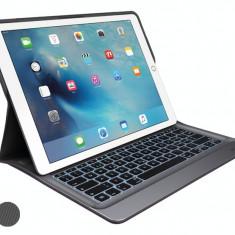 Husa tableta cu tastatura Logitech, iPad - Universal - HUSA SI TASTATURA ILUMINATA PENTRU IPAD PRO, NOU, FACTURA, GARANTIE 5ANI
