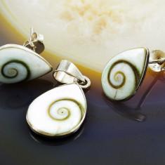 Set din Argint 925, model Vortex, cod 477 - Set bijuterii argint