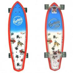 """Skateboard - Longboard Kryptonics Maui Pattern 32""""/81cm"""
