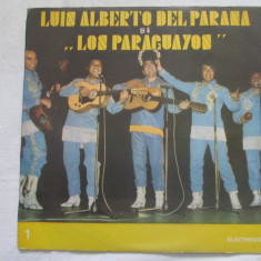 "Luis Alberto Del Parana și ""Los Paraguayos"" În Romînia (I) _ vinyl(LP) Romania - Muzica Latino electrecord, VINIL"