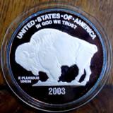 Decoratiuni - MONEDA COMEMORATIVA DIN ARGINT FIN, STATELE UNITE ALE AMERICII, 2003