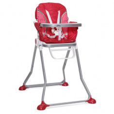 Masuta/scaun copii - Scaun de masa copii Cangaroo Juicy Rosu