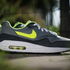ADIDASI NIKE AIR MAX 1 Unisex ORIGINALI 100% din GERMANIA nr 38.5 - Adidasi barbati, Culoare: Din imagine
