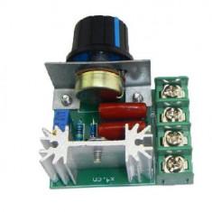 2000W SCR Motor Speed Controller Voltage Regulator Module Modulation (FS00323) - Potentiometru