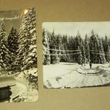Iarna, zapada - set / lot 2 vederi vechi - Iugoslavia - 2+1 gratis - RBK11970
