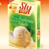 PRAF DE INGHETATA CU GUST DE VANILIE DIETETICA 2 x23g SLY NUTRIT