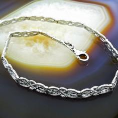 Bratara argint - Bratara din Argint 925, cu model tip impletit, cod 460