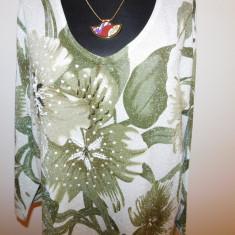 Bluza dama, Universala, Vascoza - BLUZA DEOSEBITA, FIR ELEGANT ARGINTIU, NR 48 - 50