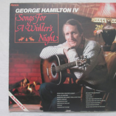 George Hamilton IV ‎– Songs For A Winter's Night _ vinyl(LP) UK - Muzica Country Altele, VINIL