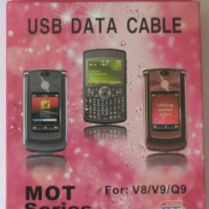 Cablu date Motorola V8 / V9 - Cablu de date