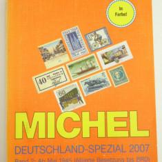 CATALOG FILATELIC - MICHEL - GERMANIA 2007