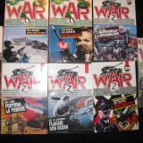 Colectia WAR - 8 numere - nr. 2, 7, 14, 17, 25, 26, 34, 37 - Carte de aventura