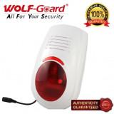 Senzori miscare - Sirena wireless cu avertizare optica si sonora Wolf-Guard LB-W03
