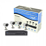 Camera CCTV - Kit supraveghere 4 camere cu DVR si HDD 1TB PNI PTZ960H1TB