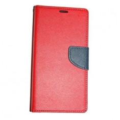 Husa Telefon - Husa ZTE Blade L3 Flip Fancy Rosie / Red