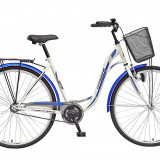 Bicicleta de oras - Bicicleta oras DHS Citadinne 2832 - model 2015 28'-Negru-Galben-500 mm - OLN-ONL8-21528320000|Negru-Galben|Cadru 500 mm