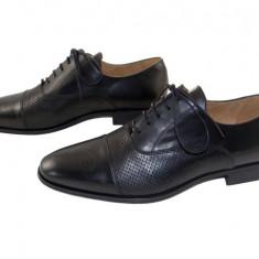 Pantofi barbati eleganti piele naturala Denis-1289 n2