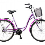 Bicicleta de oras - Bicicleta oras DHS Citadinne 2632 - model 2015 26'-Alb-Albastru-430 mm - OLN-ONL8-21526320000|Alb-Albastru|Cadru 430 mm