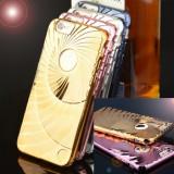Husa tip spirala, silicon, IPHONE 6 / 6S, Auriu