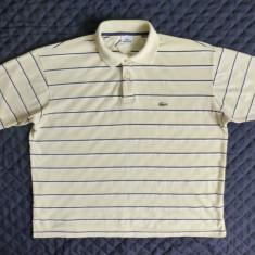 Tricou barbati - Tricou Lacoste Made in France; marime 7 (XXL), vezi dimensiuni; 100% bumbac