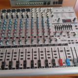 Mixer + boxe + microfoane + amplificator