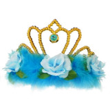 Aniversari copii - Accesoriu Deghizare Coroana Blue Rose