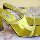 Papuci dama marca Monica by Magli interior exterior si talpa piele marimea 39.5 (P416_1)