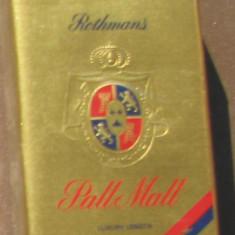 Pachet tigari - Tigari de colectie - P A L L M A L L Rothmans - Pachet sigilat - Anul - 1982