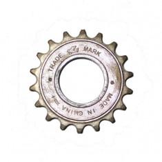 Piese Biciclete - DHS Pinion BMX IV cu clicheti, 18T, maro Cod Produs: DHS-13040
