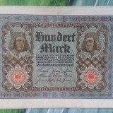 Germania - 100 mark 1920, Europa