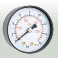Centrala termica - MANOMETRU RADIAL diam 50 0-16 BAR 1/4 inch