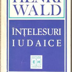 Henri Wald-Intelesuri Iudaice - Carti Iudaism