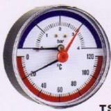 Centrala termica - TERMOMANOMETRU AXIAL f80 4 BAR 120oC 1/4 inch