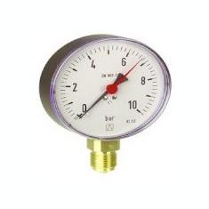 Centrala termica - Manometru cu tub Bourdon RF100 metalic D201 0-2.5bar