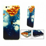 Husa fashion din silicon pentru iPhone 6/6s, Negru